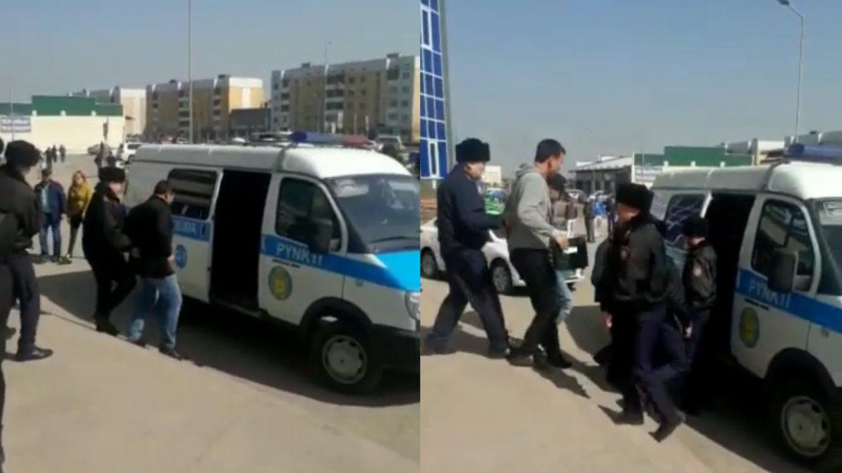 «Помогаек» снова вылавливают в спецЦОНах Алматы