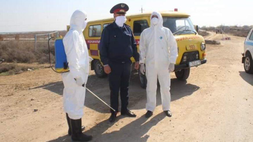 Блокпосты появились и в Туркестанской области