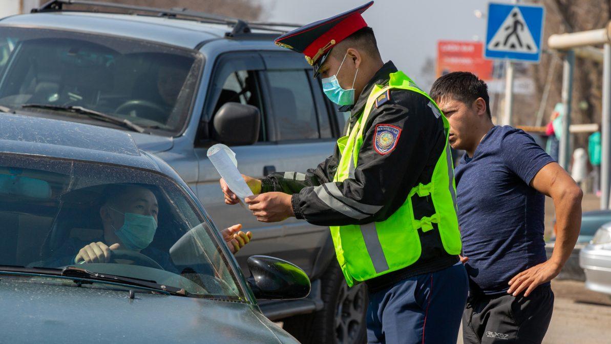 Водителей в Алматы штрафуют только за грубые нарушения правил