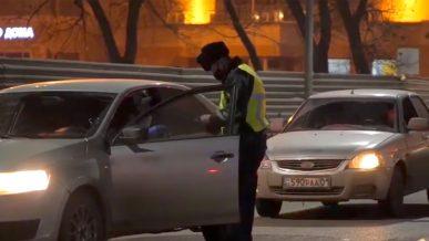 Более 370 машин отправили на спецстоянки за нарушение карантина в Нур-Султане