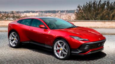 Подробности о первом кроссовере Ferrari