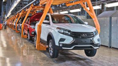 Поставки машинокомплектов Lada в Казахстан прекращены