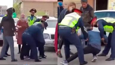 Ремонт машины во дворе закончился конфликтом с полицией