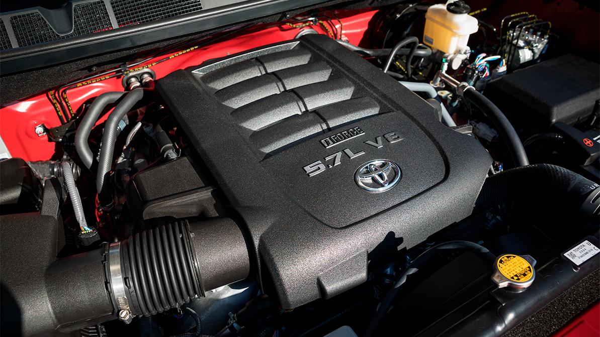 Toyota готовится попрощаться с двигателями V8