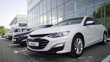 Продажи Chevrolet стартовали в Казахстане