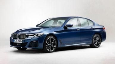 В Сеть утекли фото обновлённой BMW 5-й серии