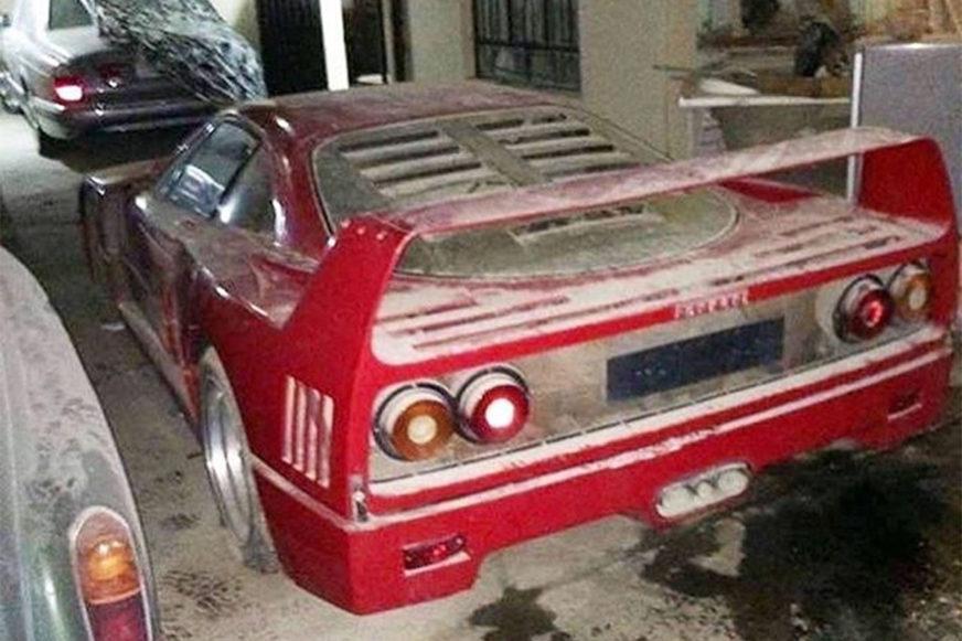 В поисках Ferrari F40 Удея Хусейна