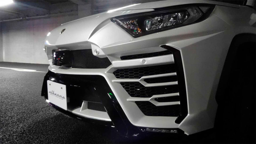 Toyota RAV4 в стиле Lamborghini Urus