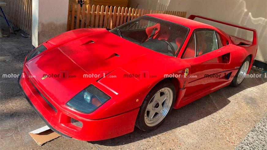 Ferrari F40 Хусейна нашлась!