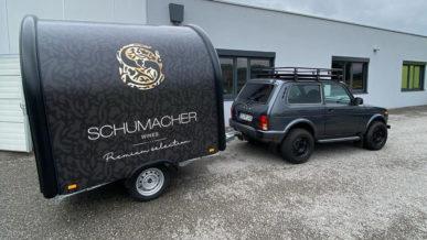 В гараже младшего Шумахера появилась Lada 4x4