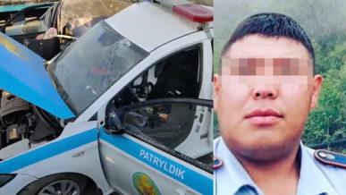 Авария на блокпосту в Алматы: виновник арестован на два месяца