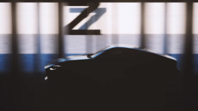 Nissan показал первый тизер 400Z