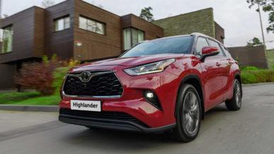 Новый Toyota Highlander появился в Казахстане