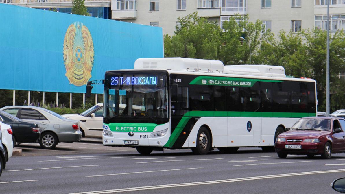 До 200 хотят довести количество электробусов в Нур-Султане