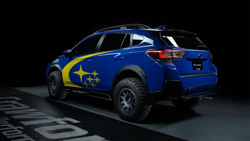 Subaru XV приподнялся на цыпочках