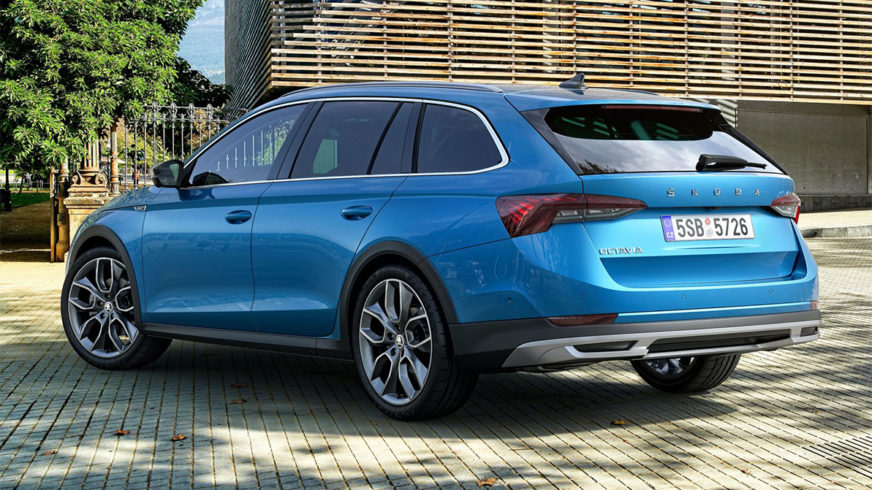 Представлена Škoda Octavia Scout второго поколения