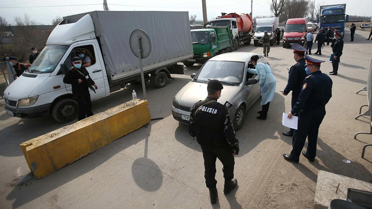 Блокпосты вернутся в Карагандинскую область 13 июня