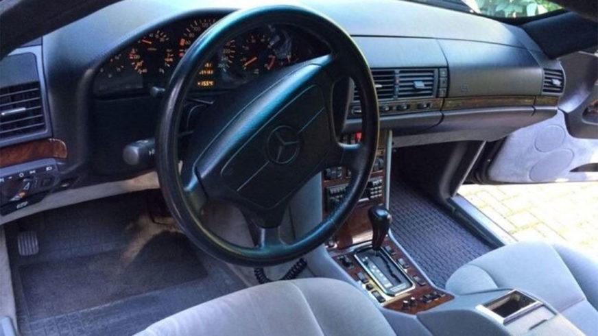 За «140-й» Mercedes-Benz Ельцина просят почти миллион долларов