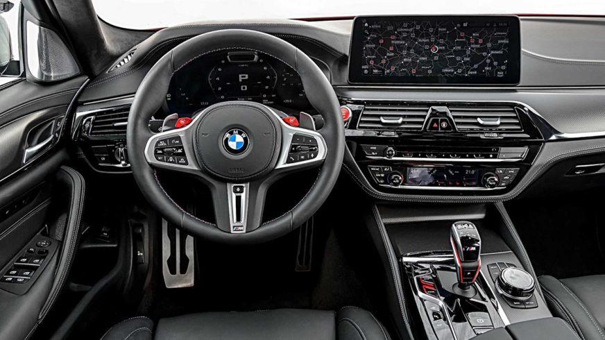 Что изменилось в BMW M5 после обновления