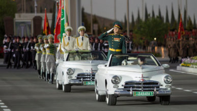Путешествие «побед» из Ашхабада в Москву