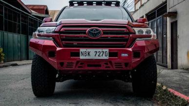 Toyota Land Cruiser для городских джунглей