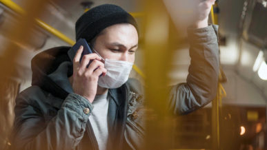 Зашёл в автобус без маски – штраф 83 000 тенге!