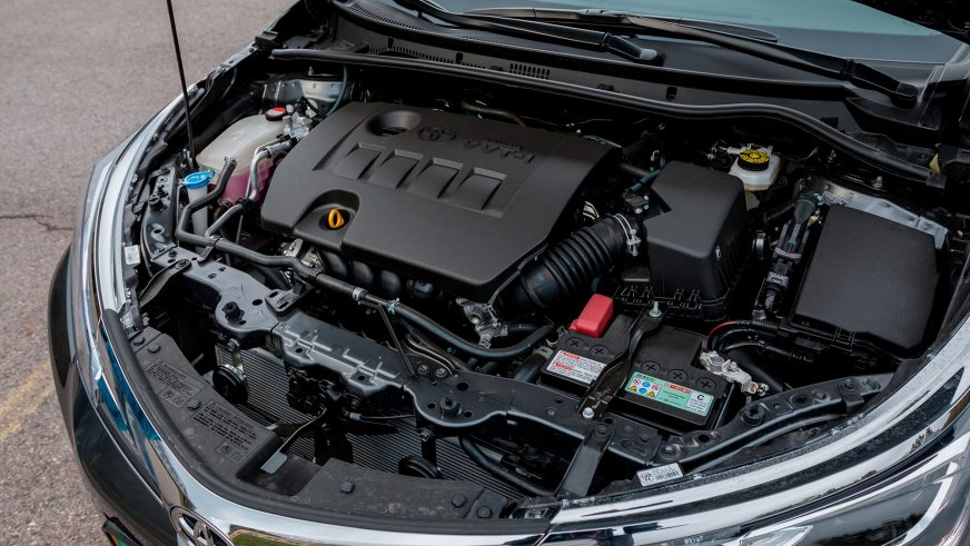 Toyota Corolla - 2016 - двигатель