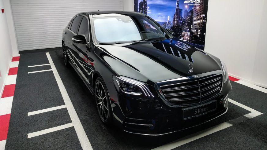 Обновлённый Mercedes-Benz S-Class