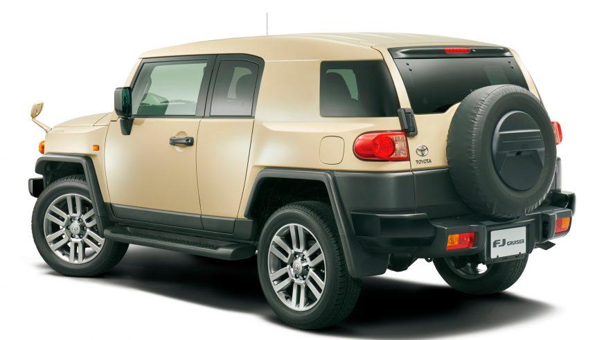 Toyota выпустила прощальную версию FJ Cruiser