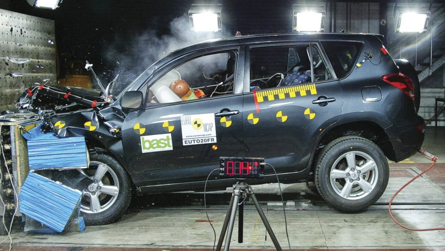 Toyota RAV4 - 2012 - краш-тест